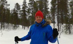 Skiing in Kessi