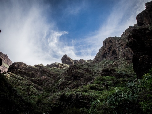 Deep in the Masca Canyon