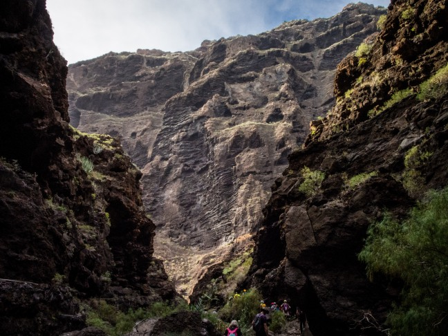 In the Masca Canyon