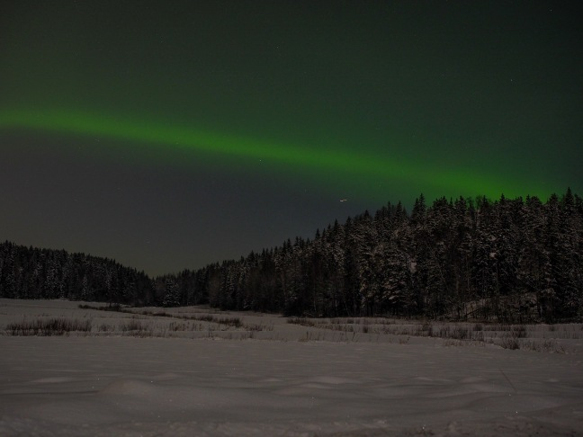 Northern Lights in Southern Finland