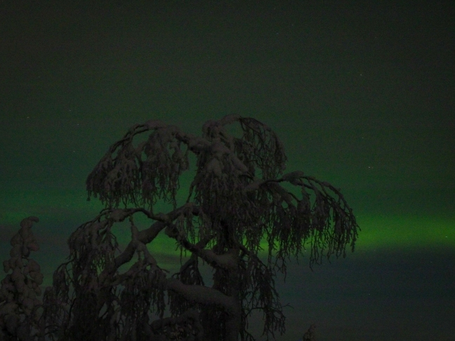 Northern Lights close to Oratunturi
