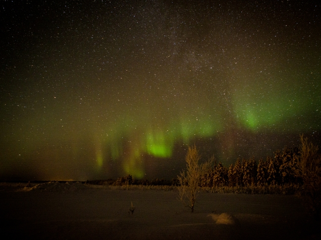 Northern Lights in Sodankylä 1