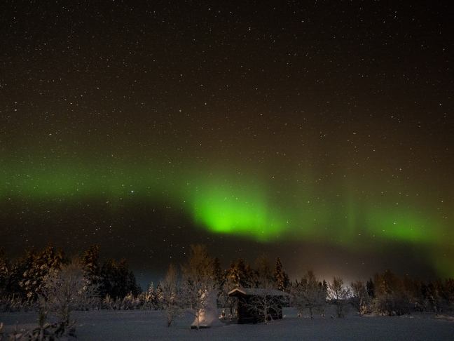 Northern Lights in Sodankylä 2