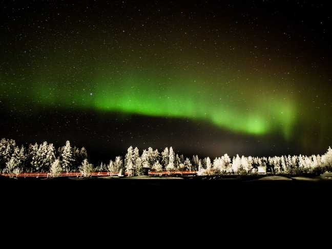 Northern Lights in Sodankylä 5