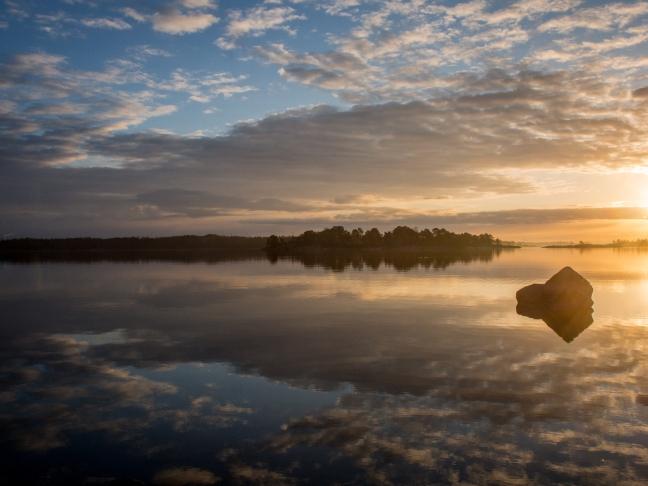 Sunrise at Kallahti Peninsula