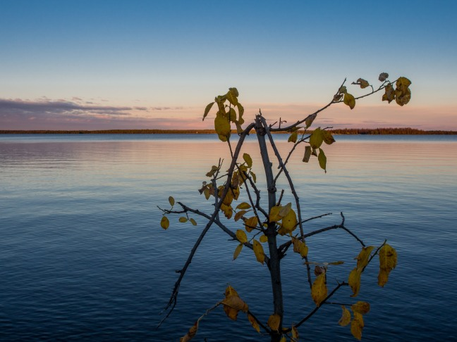 Sunset at Lake Nitsijärvi