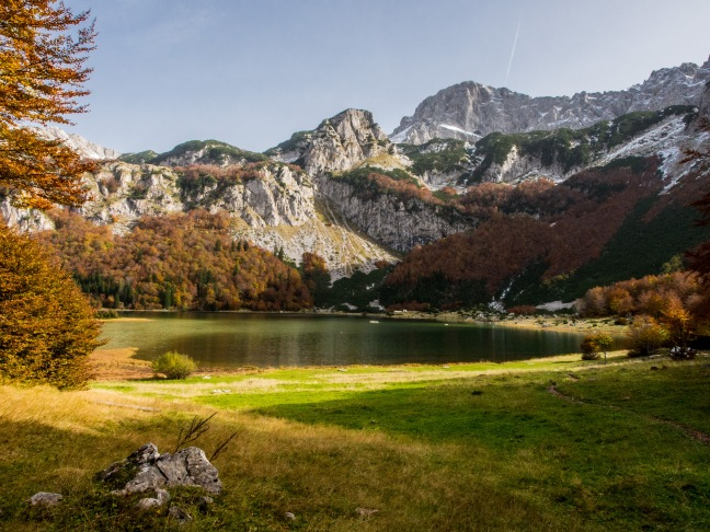 Trnovačko Lake in Montenegro