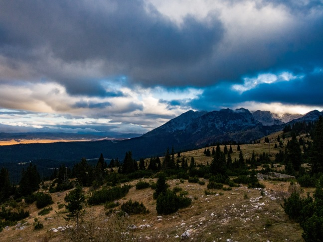 Sunset in Durmitor National Park
