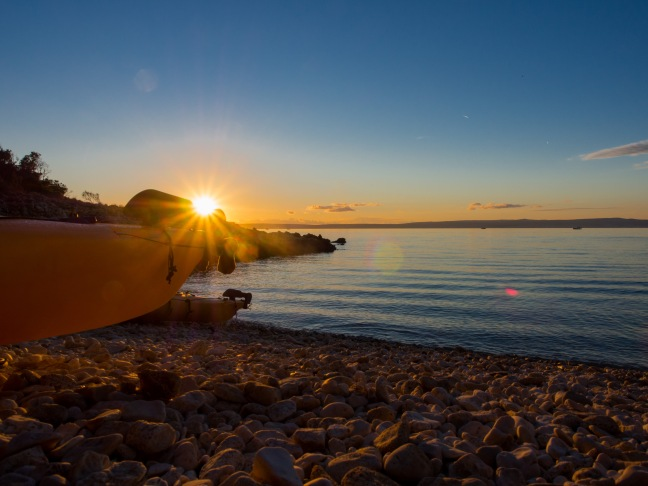 Sunset on the Island of Rab