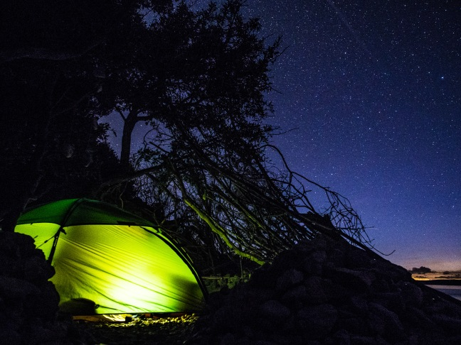 Hilleberg Allak under the stars