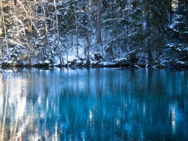 Kiikunlähde natural spring