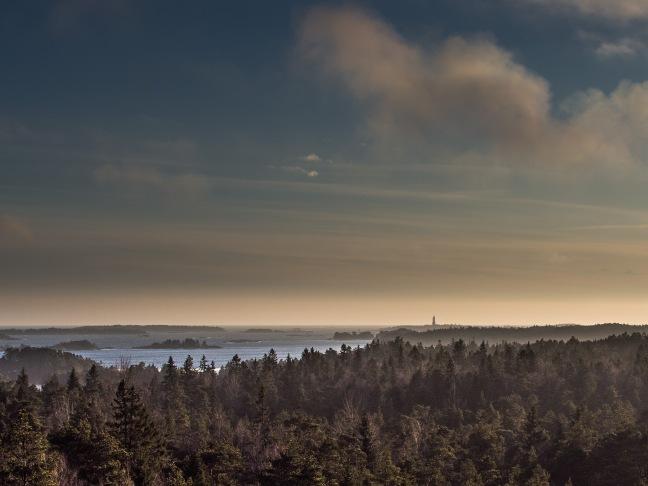 View from birdwatch tower Porkkala