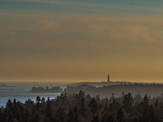 Rönnskär lighthouse south of Porkkala peninsula