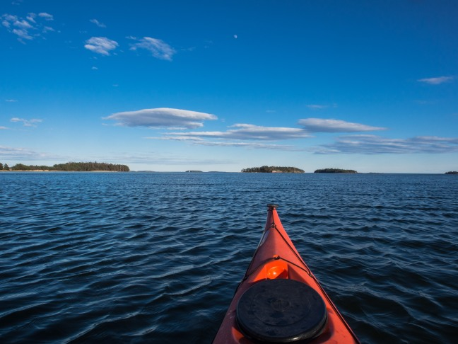 Kayaking in Eastern Helsinki