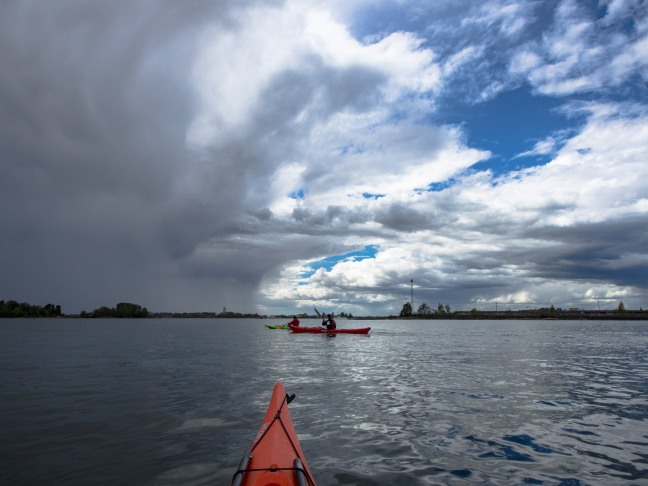 Kayaking in Helsinki